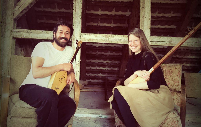 CEYHUN KAYA und PETRA NACHTMANOVA | Traditionelle Lieder von Anatolien bis zum Kaukasus